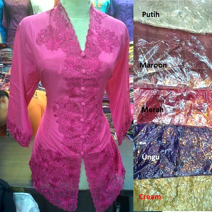 Foto Model Baju Kebaya Bordir