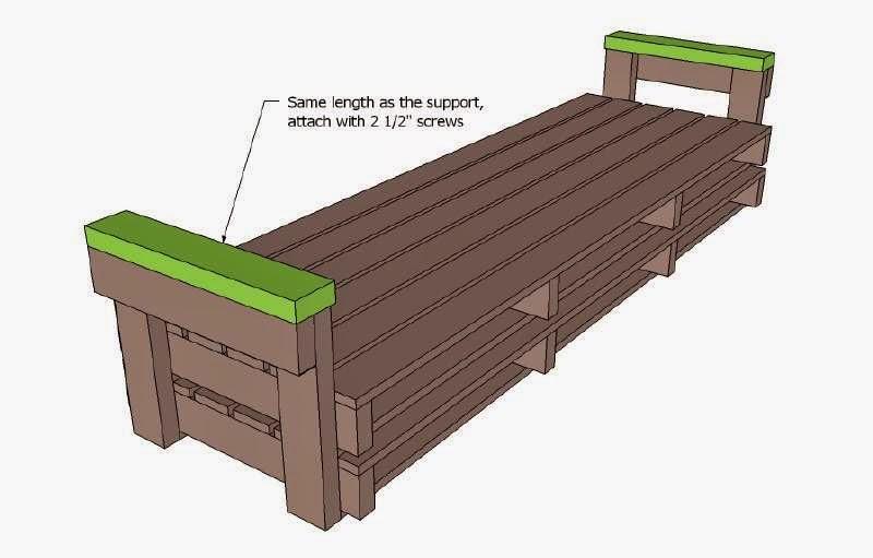 Un sof de palets planos e for Muebles con palets planos