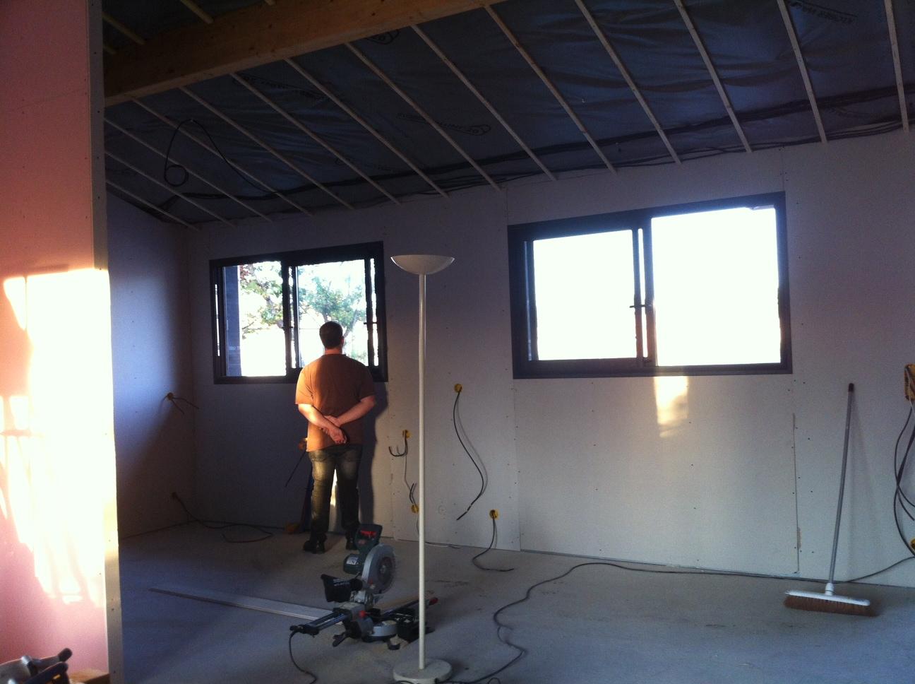 La construction de notre maison en bois: octobre 2012