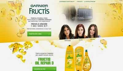 Fructis Oil Repair 3 testing