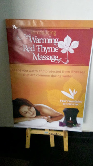 Warming Red Thyme Massage at Four Fountains De-Stress Spa. image