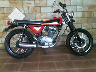 Honda CB jap style modification