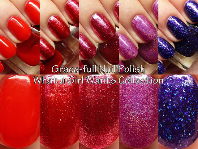 Grace-full Nail Polish What a Girl Wants Collection