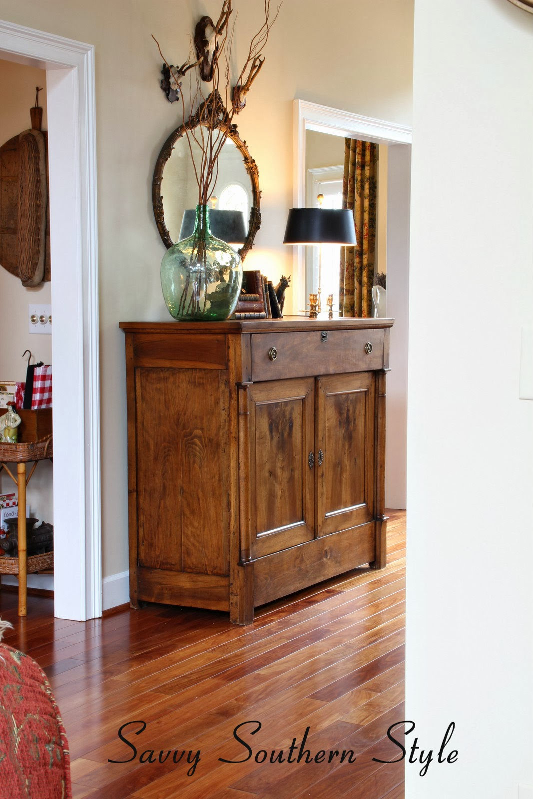 Master Bedroom 2014 savvy southern style: master bedroom mirror switch