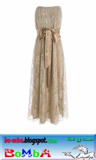 صورة فستان ابيض قصير