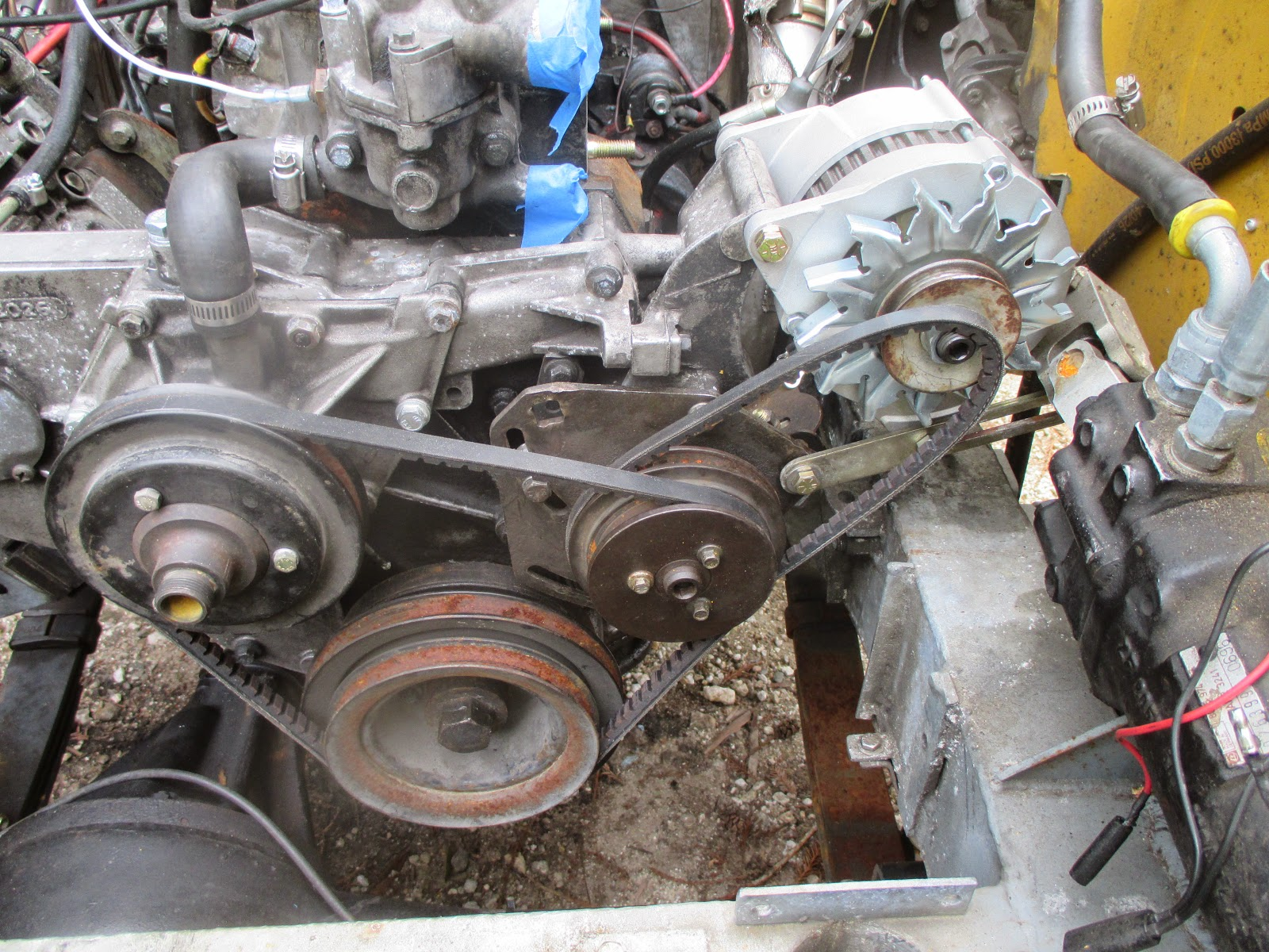 Tension Pulley Wont Move : Genocache discovery tdi into series belt issues