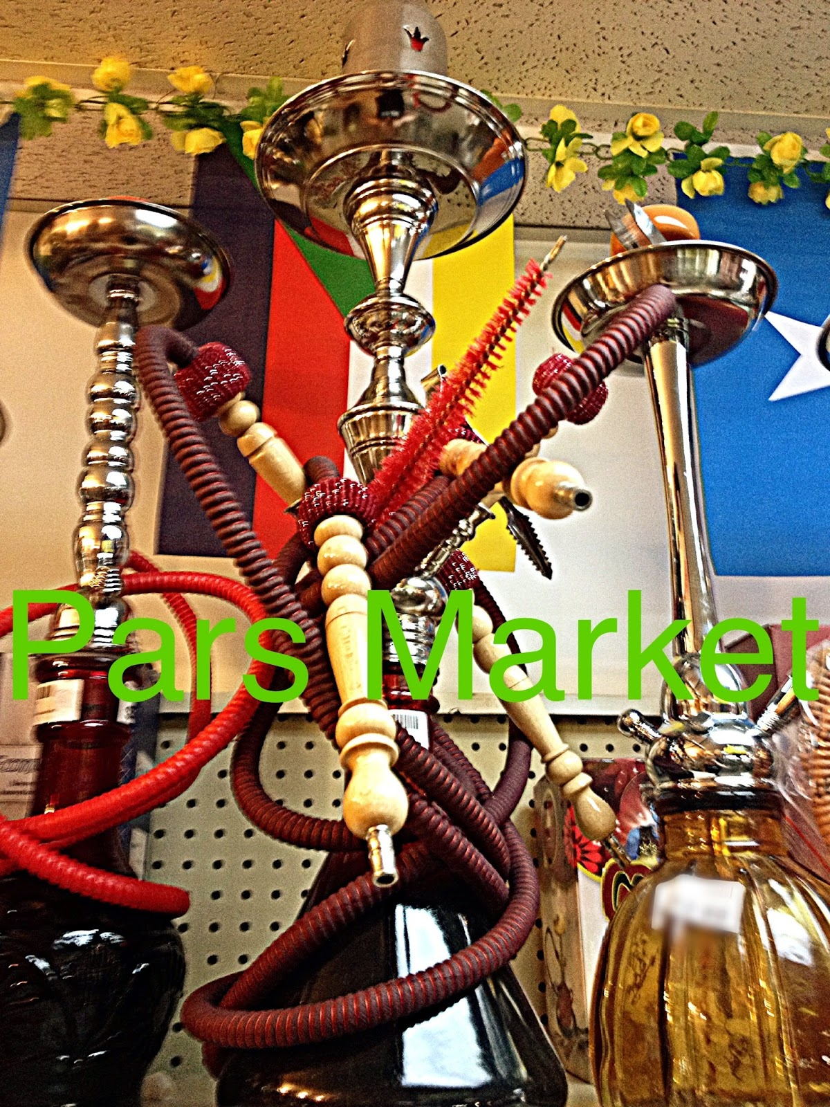 Large Egyptian 4 hose Hookah at Pars Market Columbia Maryland 21045