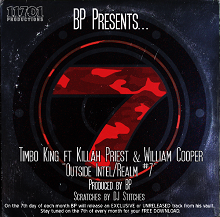 Timbo King ft Killah Priest & William Cooper - Outside Intel/Realm #7 (Single)