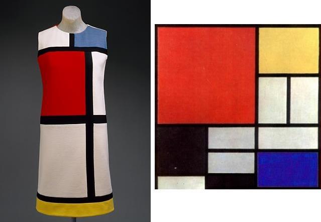 Extrêmement FashionHistory: L'abito Mondrain XC25