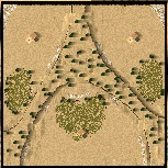 7 خرائط للعبة STRONGHOLD CRUSADER  Test