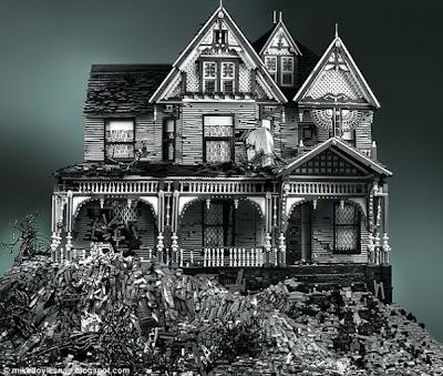 Rumah Victoria Dari Lego