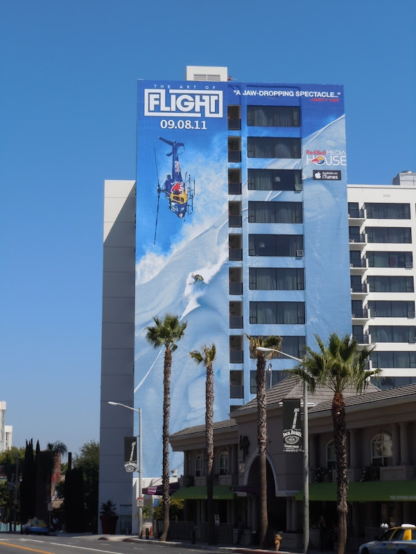 Art of Flight Red Bull billboard