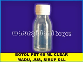 Supplier Botol Plastik PET 60ml