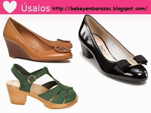 ZAPATOS PARA EMBARAZADAS - ZAPATOS DE MODA PA RA EMBARAZADAS via http://bebeyembarazos.blogspot.com/
