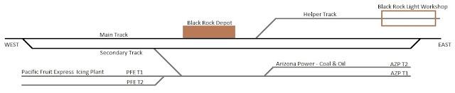 Plano de Black Rock