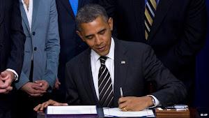 با امضای اوباما تحریمهای تازه آمریکا علیه ایران اجرایی شد..