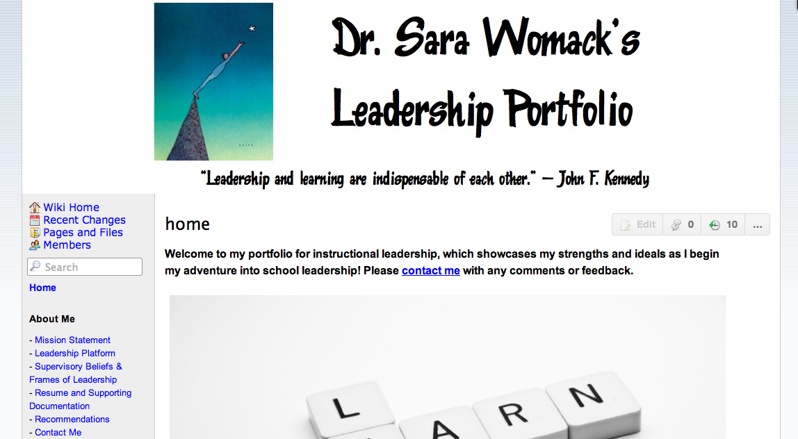 my leadership portfolio Explore brooke tetrault's board leadership portfolio board on pinterest   careers with the brightest outlook for me based on my skills profile include: - art.