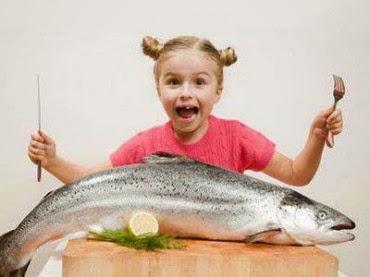 ikan salmon kaya dengan omega-3
