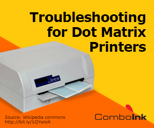 dot matrix troubleshooting
