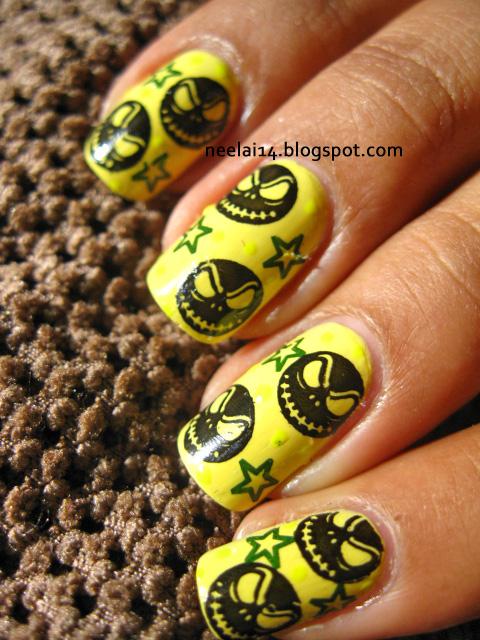 ♥ naiL staSh ♥: Jack Skellington Nail art
