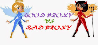 good proxy vs bad proxy