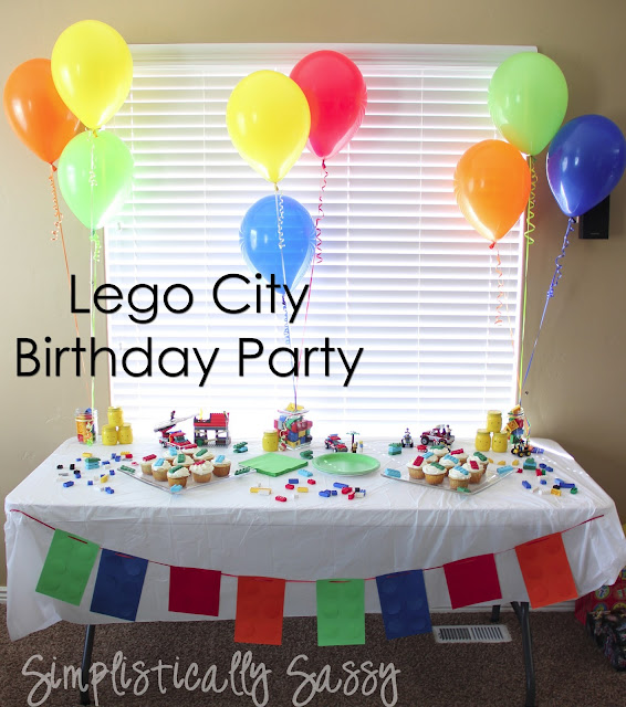 Lego City Birthday Party