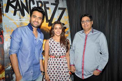 Jackky Bhagnani, Priya Anand & Priyadarshan at 'Rangrezz' Press Meet Gallery