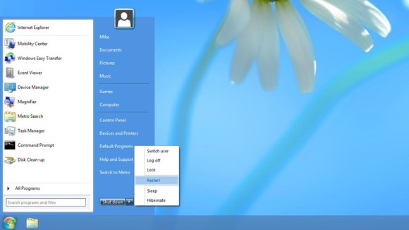 Start Menu 8 For Windows 8