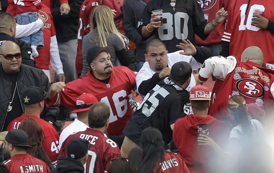 Image Result For Ers Vs Raiders Should Fan Violence