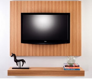 Tricks to integrate the TV in the decoration