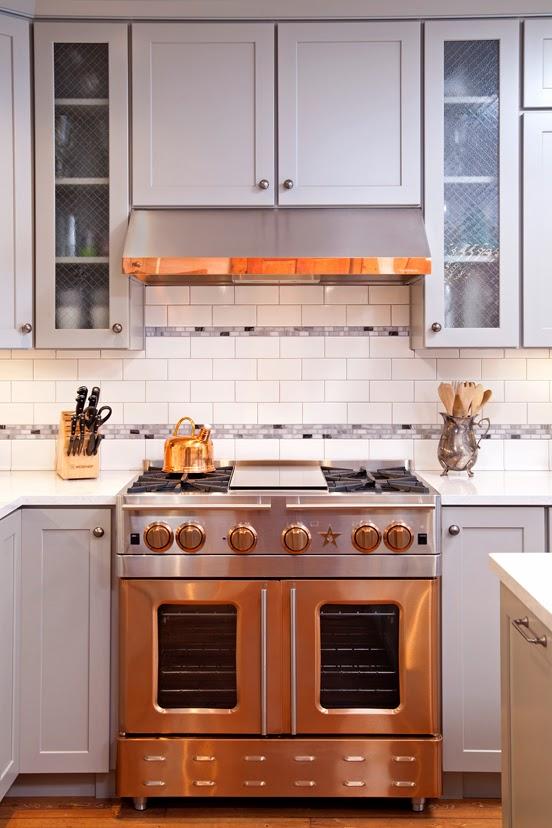 Copper Appliances Kitchen Brushed Copper Kitchen
