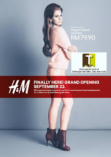 H&M Grand Opening Special TREATS Sale 2012