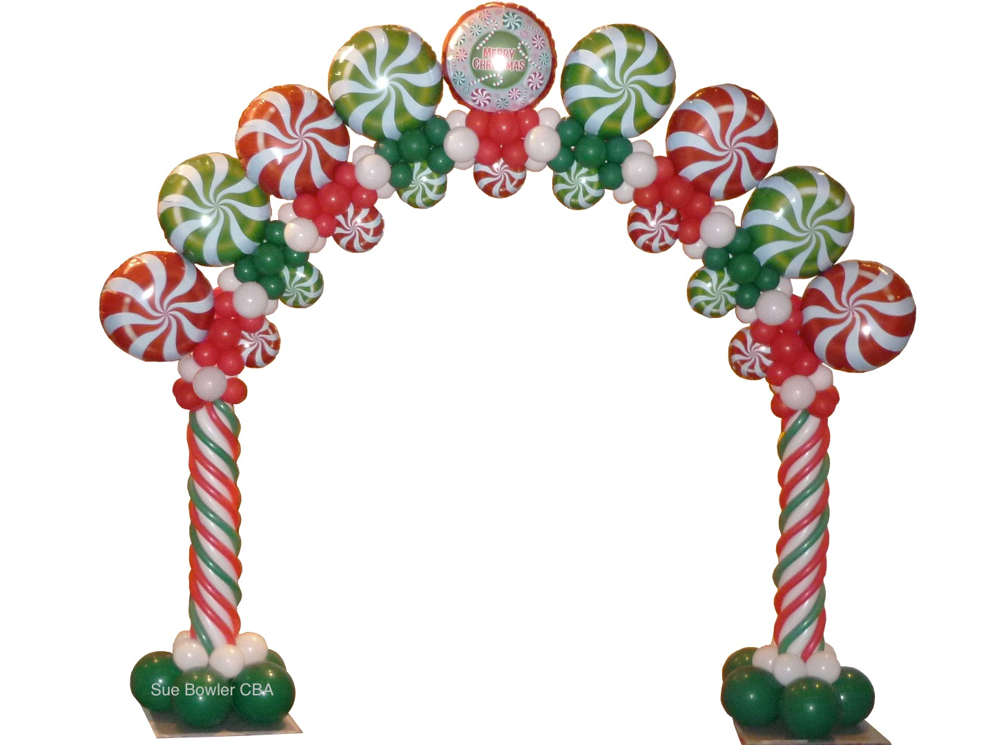 The very best balloon blog how much should i charge for for Christmas arch diy