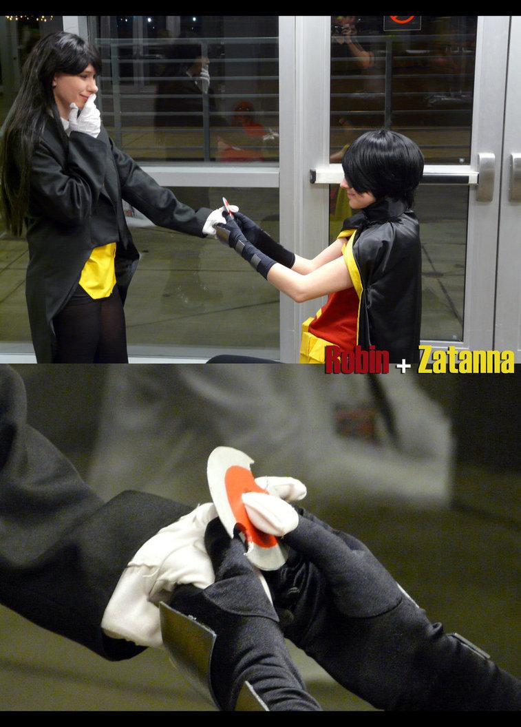 Zatanna And Robin Young JusticeZatanna And Robin