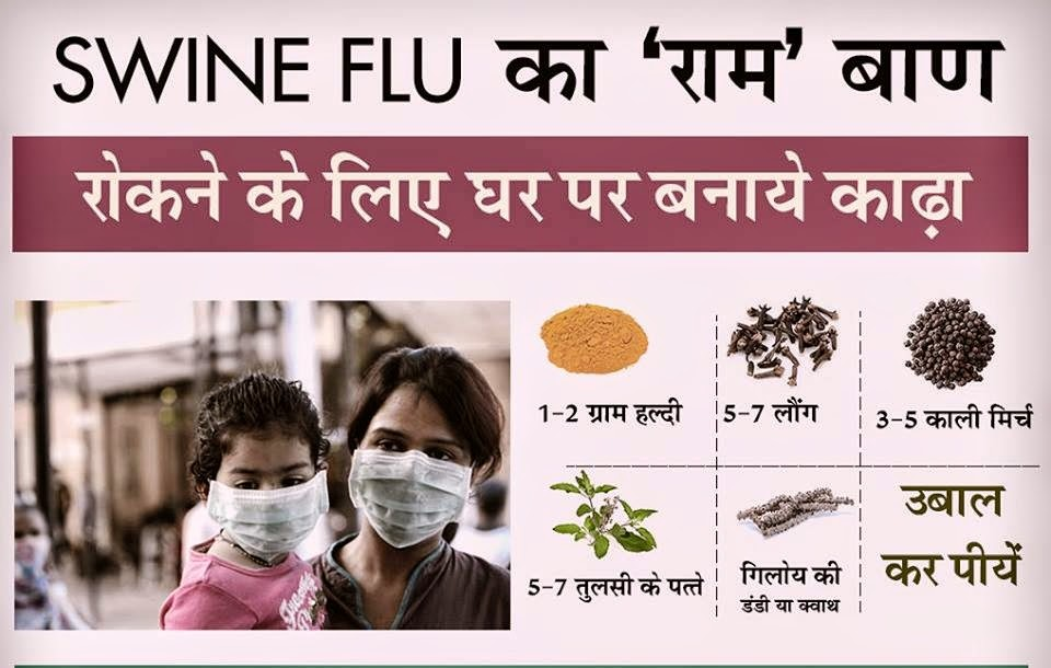 Ayurvedic Upay of Swine Flu