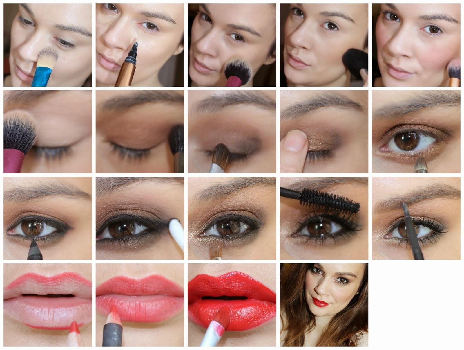 Как пошагово делать макияж в домашних условиях
