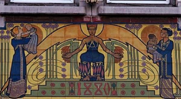 Teka-teki Mozaik Jan Toorop dari Surabaya