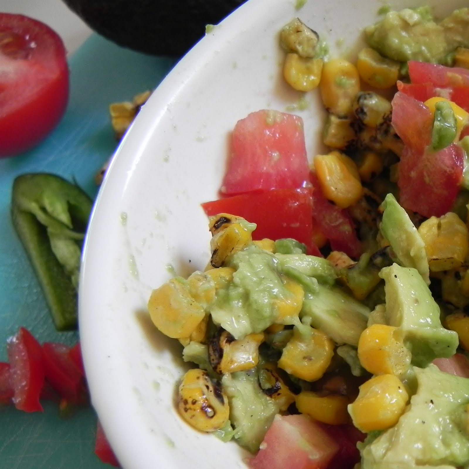 Mix all together and serve over Fresh Fish or with Tortilla Chips. So ...