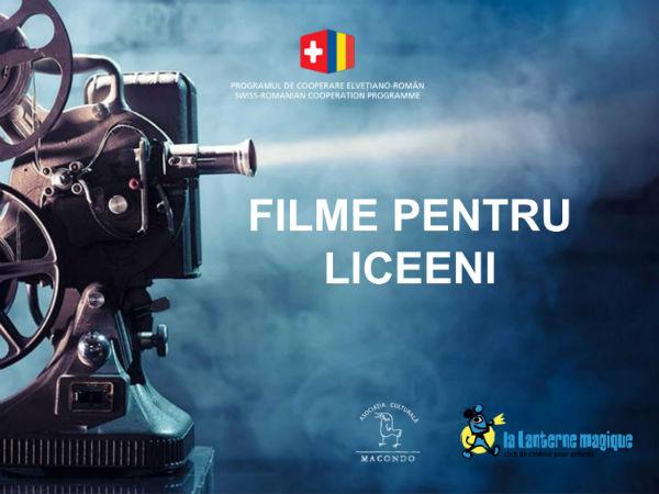 filme pentru liceeni proiectul