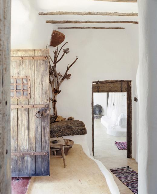 En mi espacio vital muebles recuperados y decoraci n - Como pintar una casa rustica ...