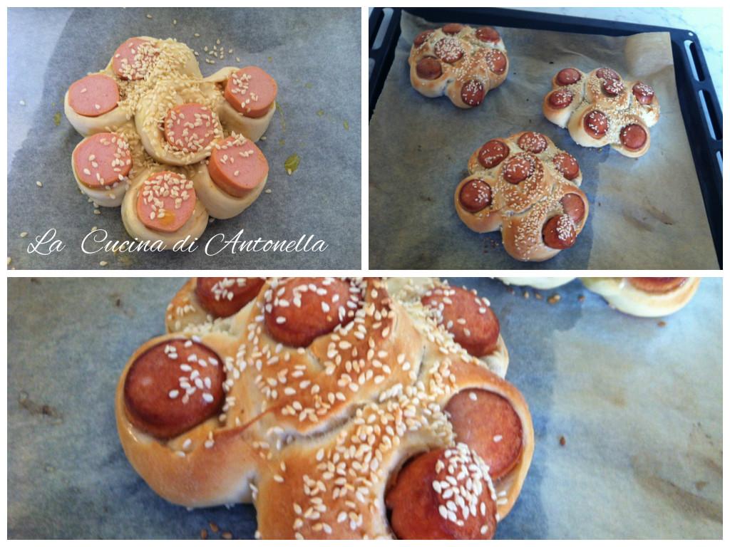 La cucina di antonella wurstel in crosta di pane - La cucina di antonella ...