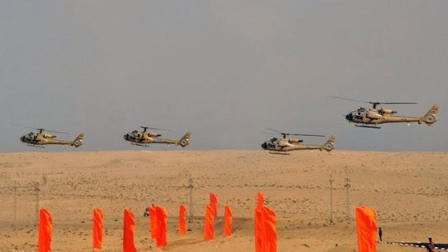 Helikopter Militer Mesir Gempur Militan Islam di Sinai