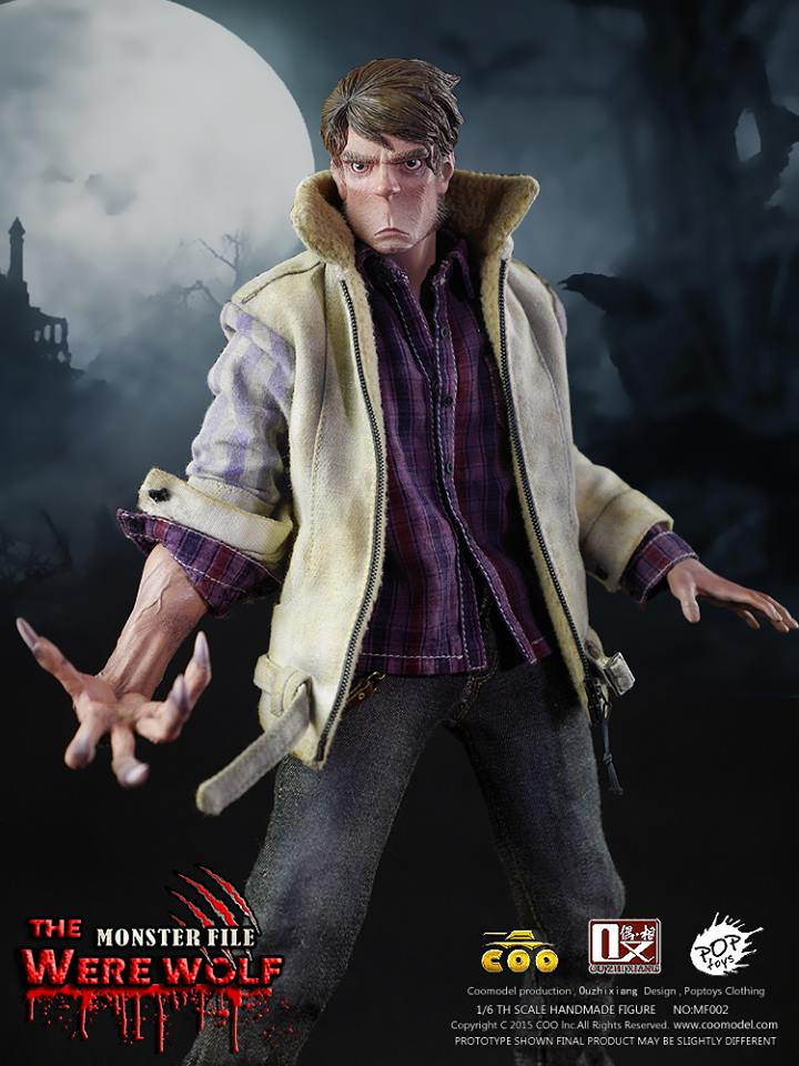 COOMODEL X OUZHIXIANG - Monster File Series - The Were Wolf E9