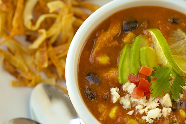 ... Leftover Transformation! Turkey Tortilla Soup - thecafesucrefarine.com