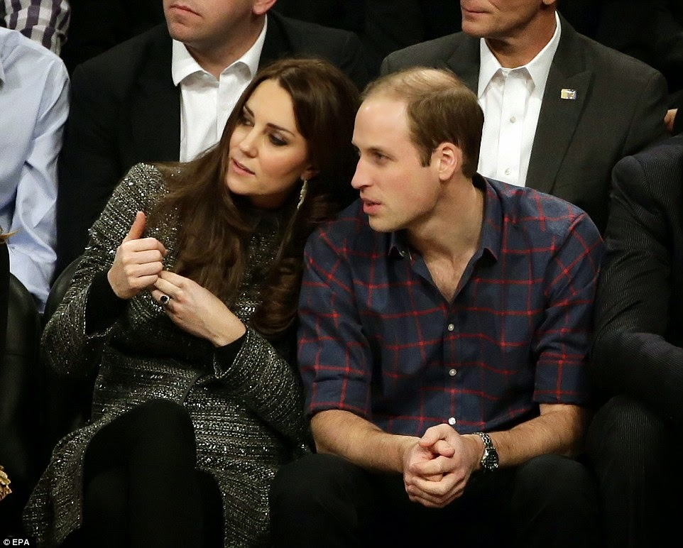 Photos: British royalty meets American royalty!