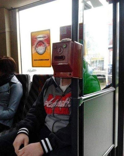 funny face box