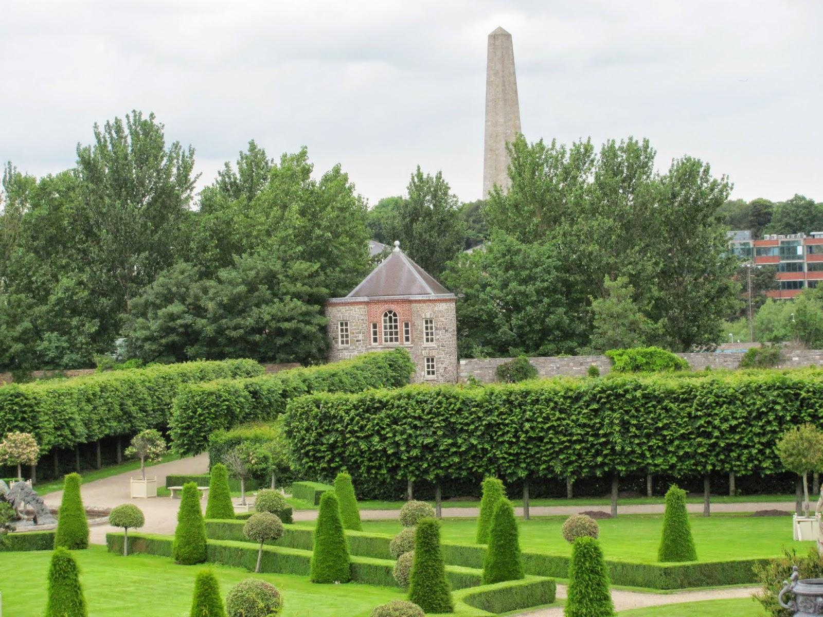 Royal Hospital Kilmainham Gardens Dublin, Ireland