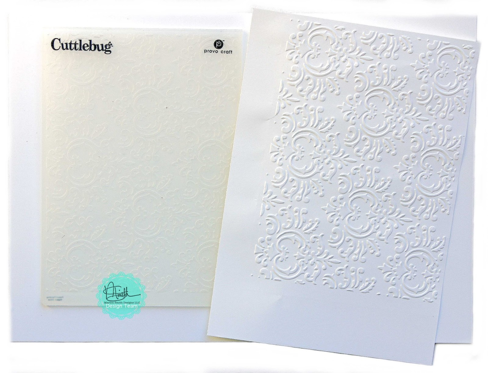 Embossing Fabric Book Cover : Marion smith designs creating a faux antique wallpaper