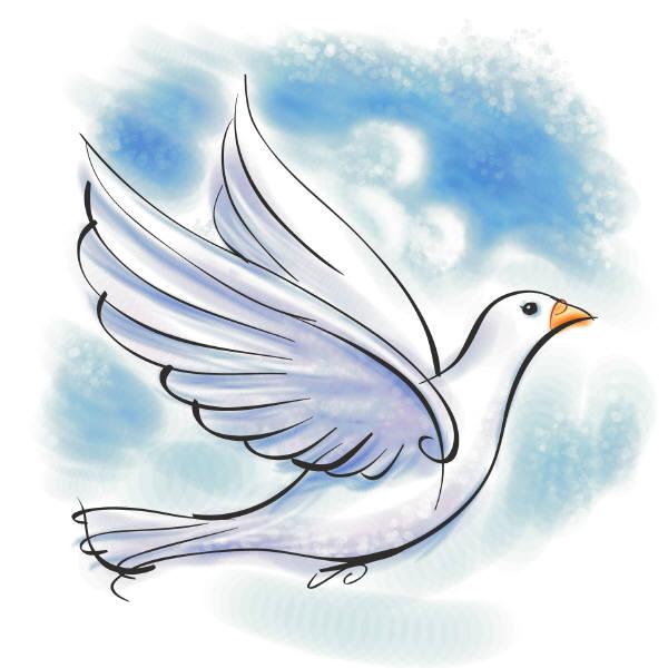 A colorear Imágenes de Paloma de la Paz