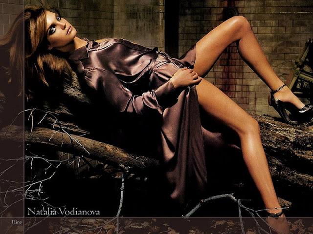Russian Model Natalia Vodianova